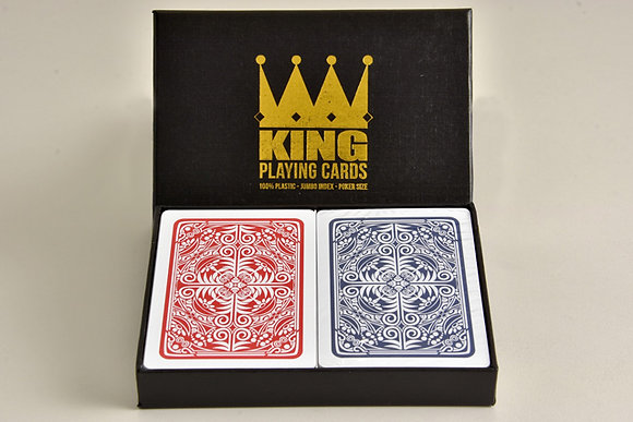 "Twin Deck ""Prestige"" 100% Plastic Poker/Jumbo"