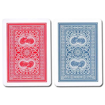 Old Trophy 100% Plastic 4 PIP Poker/Regular