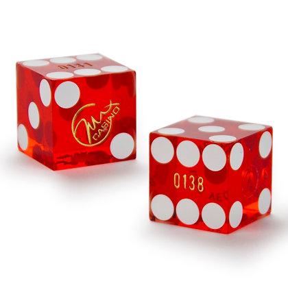 19mm Max Casino Precision Dice x 2