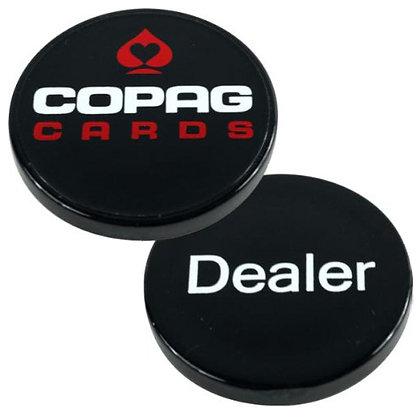 """2"""" plastic COPAG dealer button"""