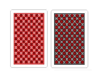 'Master' 100% Plastic Poker/Regular