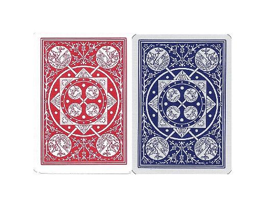 Fan Back Poker/Regular - 2 decks