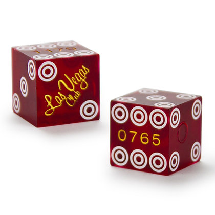 19mm Las Vegas Club Precision Dice x 2