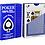 Thumbnail: Piatnik 100% plastic poker/jumbo (Peek) playing cards Red/Blue (2 Decks)