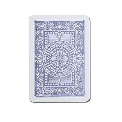 Texas 100% Plastic Poker/Jumbo Dk Blue.