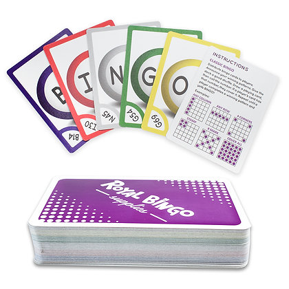 Pocket Bingo Calling Cards