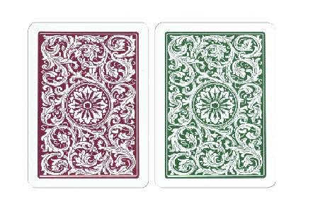 '1546 Elite' 100% Plastic Poker/Regular G/B