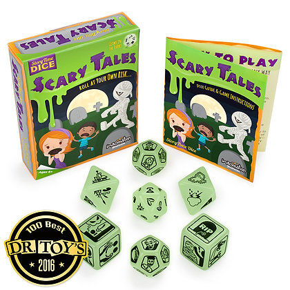 Story Time Dice: Scary Tales (Glow in the dark!)