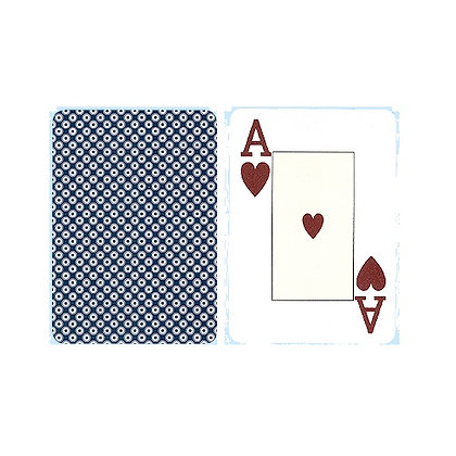Casino 100% Plastic Poker/Jumbo - single deck