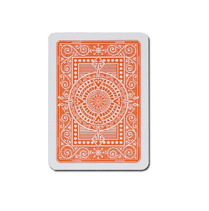 Texas 100% Plastic Poker/Jumbo Orange.