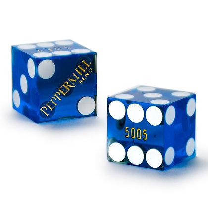19mm Peppermill Vagas Precision Dice x 2