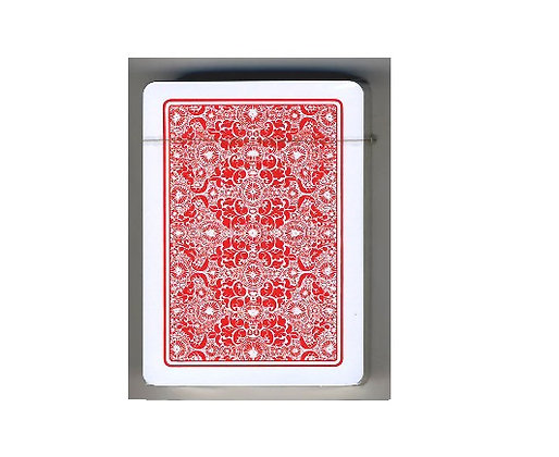 Torcello 100% Plastic Poker/Regular 4-PIP Red