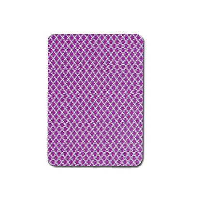 Peek 100% Plastic Poker/Jumbo Purple.