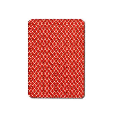 Peek 100% Plastic Poker/Jumbo Red.