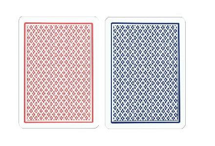 'Dual Index' 100% Plastic Poker/Peek
