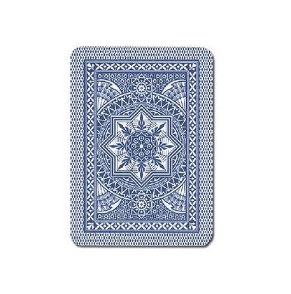 Cristallo 100% Plastic 4 PIP Poker/Jumbo Dk Blue.
