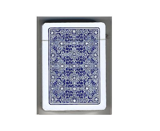 Torcello 100% Plastic Poker/Regular 4-PIP Blue