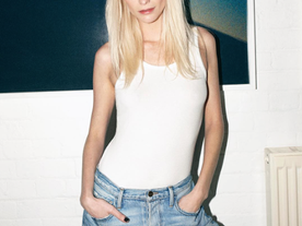 POPPY DELEVIGNE paid us a visit to shoot LE MIX, a deconstructed jean born from innovative resourcef