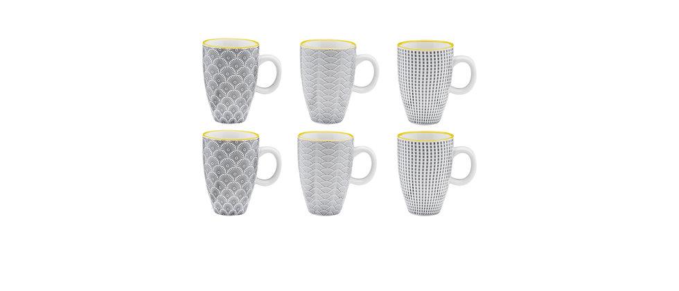 Tasse à café 9cl - 6 pièces - Collection ECLIPSE