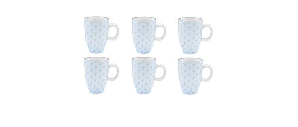 Tasse à café 9cl Fan - 2 pièces - Collection PASTEL