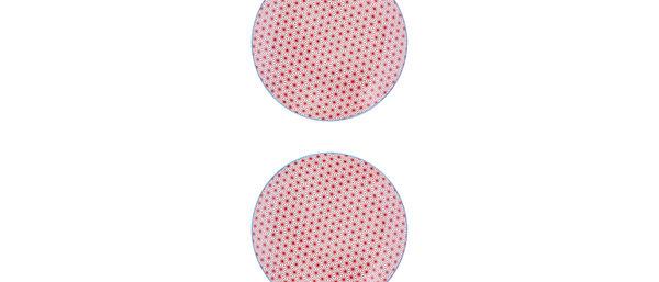 Assiette à dessert Ø21cm Star - 2 pièces - Collection COLOR