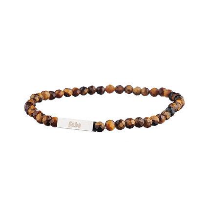 Bracelet Mirabeau marron - pierres naturelles