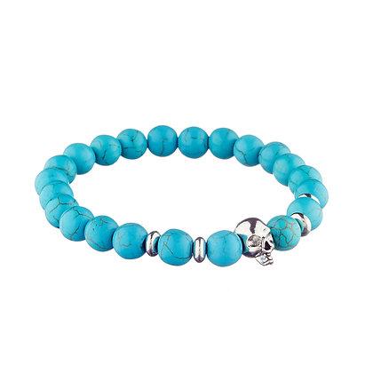 Bracelet Belleville turquoise - pierres naturelles