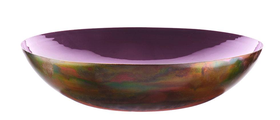 Corbeille à fruits en métal Ø35cm - Prune