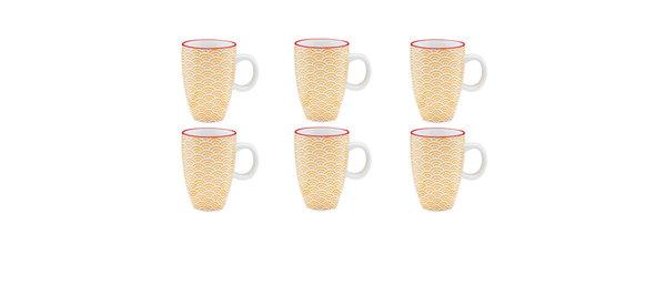 Tasse à café 9cl Rainbow - 6 pièces - Collection COLOR