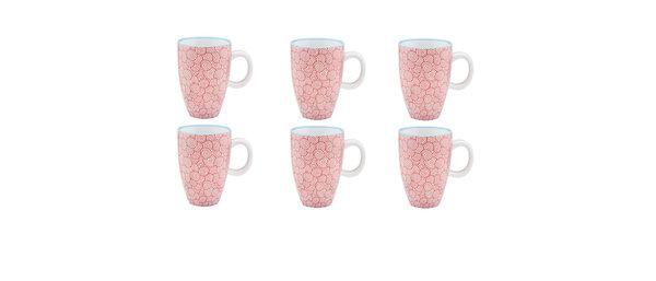Tasse à café 9cl Swirl - 6 pièces - Collection COLOR