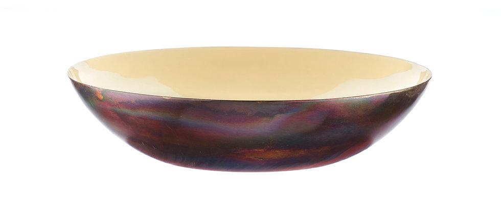 Corbeille à fruits en métal Ø30cm - Sable