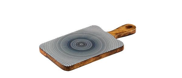 Planche de service en bois de manguier 15x30cm - Sun Dark