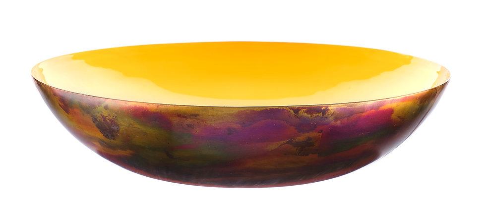 Corbeille à fruits en métal Ø35cm - Safran