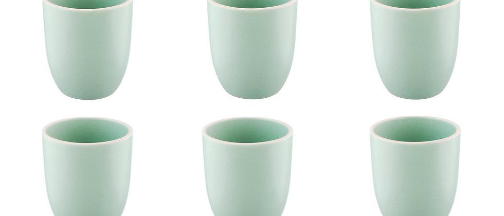 Mug ORIGIN 20cl - 6 pièces - Jade