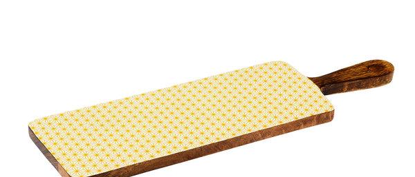 Planche de service en bois de manguier 15x50cm - Star Color