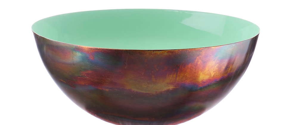Saladier en métal Ø30cm - Jade