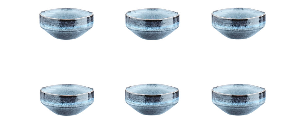 Bol GENESIS Ø11cm - 6 pièces - Mer