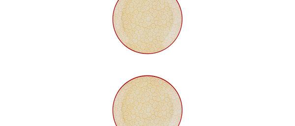Assiette à dessert Ø21cm Swirl - 2 pièces - Collection COLOR