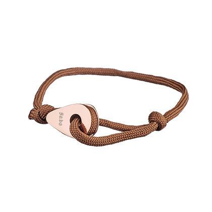 Bracelet Cambronne marron