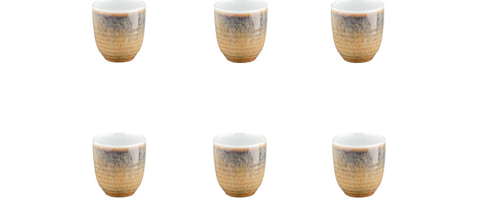 Tasse COSMOS 15cl - 6 pièces - Crème