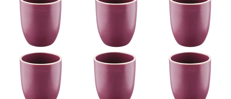 Mug ORIGIN 20cl - 6 pièces - Prune