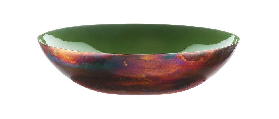 Corbeille à fruits en métal Ø30cm - Argile