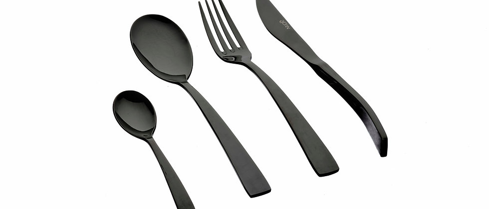 Ménagère 24 pièces Oglu - Black