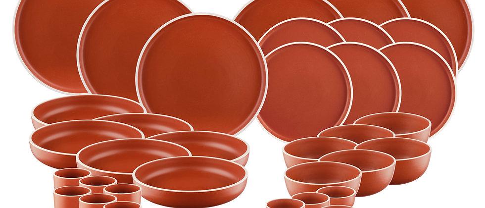 Service Complet ORIGIN - 36 pièces - Terracotta