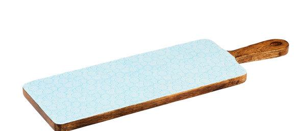 Planche de service en bois de manguier 15x50cm - Swirl Color