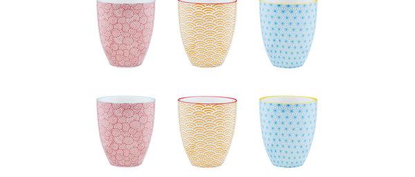 Mug 30cl - 6 pièces - Collection COLOR