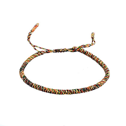 Bracelet Bouddhiste multicolore