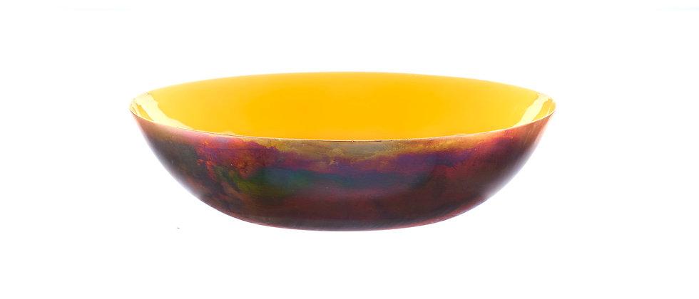 Corbeille à fruits en métal Ø25cm - Safran