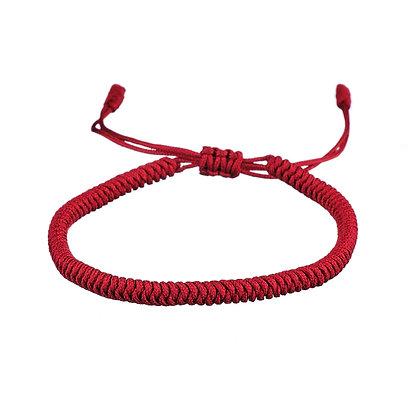 Bracelet Bouddhiste bordeaux