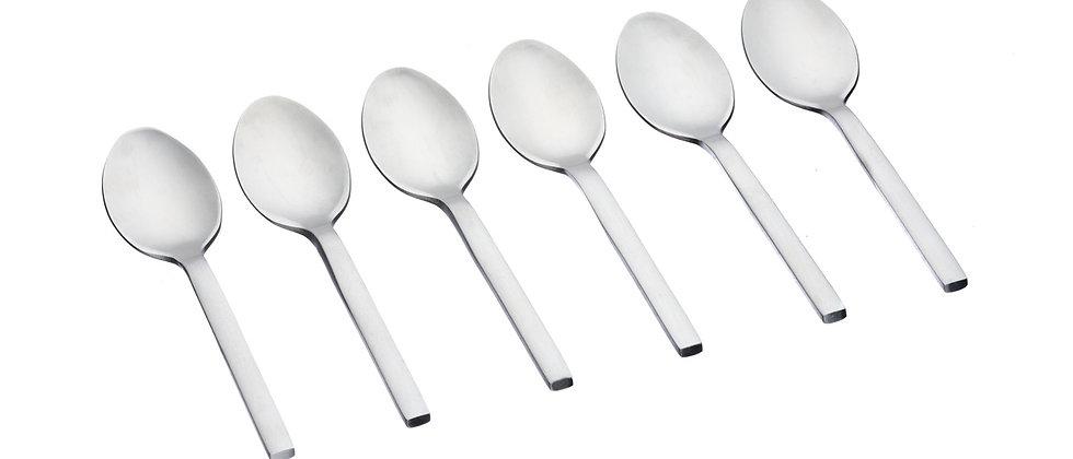 Coffret 6 petites cuillères Emund - Silver